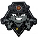 Bay Hedef Silahlı Çılgın Kedi Peç