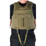 Body Armor Vest with flotation capability level of protection III-A or  III