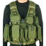 Combatant Vest with Hydration system-pouch and water bag made by Marom Dolphin