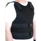 Concealable Bulletproof Vest Level III-A color Black - made by Marom Dolphin