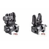 FFS + FRS CAA Picatinny Front flip-up sight + Low profile rear flip-up sight