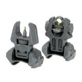 FRBS 4D / 2D Fab Defense & Meprolight Tritium Enhanced Front and Rear Back-Up Sights