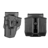 226 + PS-9S - SIG P226 HOLSTER and DOUBLE MAG SWIVEL POUCH FOR STEEL 9MM AND .40 MAGAZINES