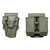 226S + PS-9 - SIG P226 SWIVELED HOLSTER and DOUBLE MAG POUCH FOR STEEL 9MM AND .40 MAGAZINES