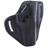 """The Casual"" KIRO Holsters Belt Slide Two Slot Low-Profile Leather Holster for FNH Five-Seven"
