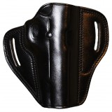 """The Casual"" KIRO Holsters Belt Slide Two Slot Low-Profile Leather Holster for Colt 1911"