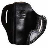 """The Casual"" KIRO Holsters Belt Slide Two Slot Low-Profile Leather Holster for Glock 19/23/32"
