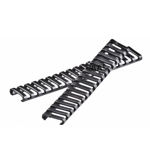 LRC CAA Tactical Ladder Style Low Profile Rail Covers  for Picatinny Rails Rubber made