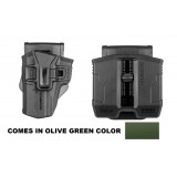 226R + PS-9S - SIG P226 RETENTION HOLSTER and DOUBLE MAG SWIVEL POUCH FOR STEEL 9MM AND .40 MAGAZINES
