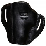 """The Casual"" KIRO Holsters Belt Slide Two Slot Low-Profile Leather Holster for Sig P226"