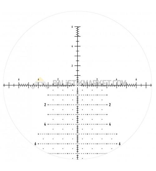 Element Optics Helix 6-24x50 FFP (APR-2D) Mrad Tüfek Dürbünü
