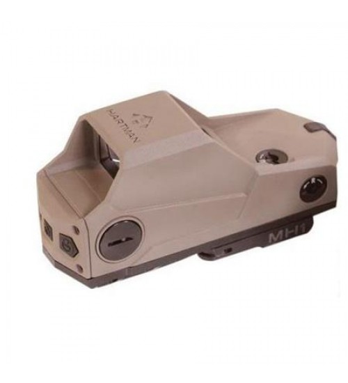 MH1-T Hartman Sights The Ultimate Red Dot 2MOA Reflex Sight, NVD Compatible (Tan)